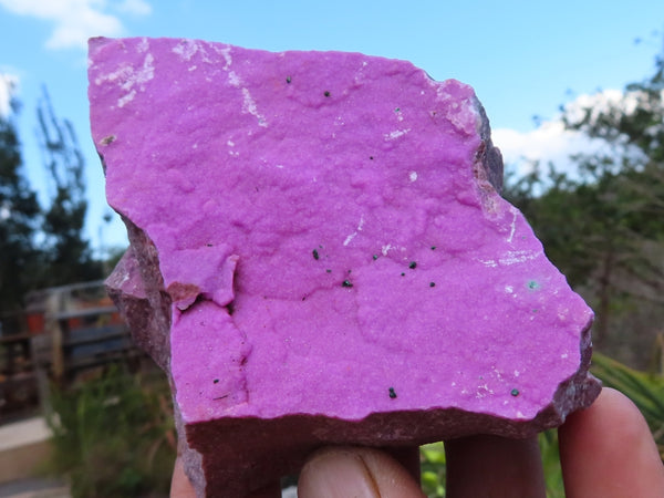 Natural Large Salrose Cobaltion Dolomite Specimens x 6 from Kakanda, Congo