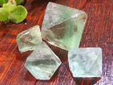 Natural Riemvasmaak Octahedron Crystals x 83 from Northern Cape, South Africa - TopRock