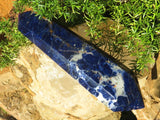Polished A Grade Double Terminated Sodalite Crystal x 1  from Namibia