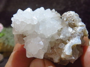Natural Lesotho Mountain Quartz Mixed x 24 from Lesotho