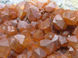 Natural NEW Tangerine Quartz Plate x 1  from Congo