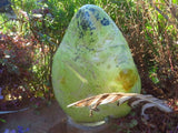 POLISHED LARGE GREEN OPAL DISPLAY FREEFORM x 1 from Madagascar - TopRock