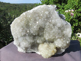 1 Natural large crystallised agate piece - TopRock