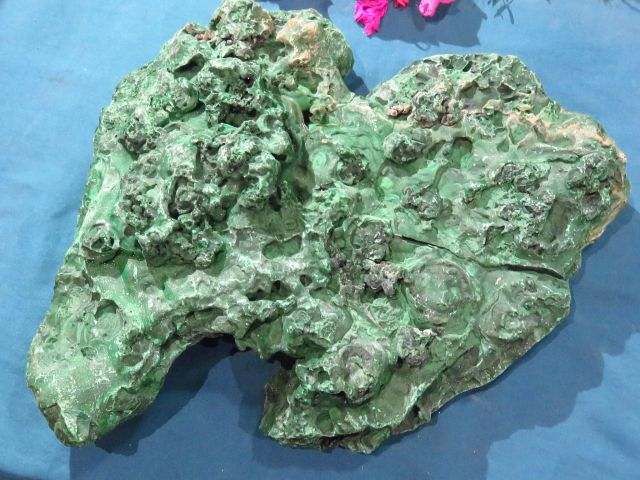 Natural X Large Malachite Piece x 1 from Congo, Kasompe - TopRock