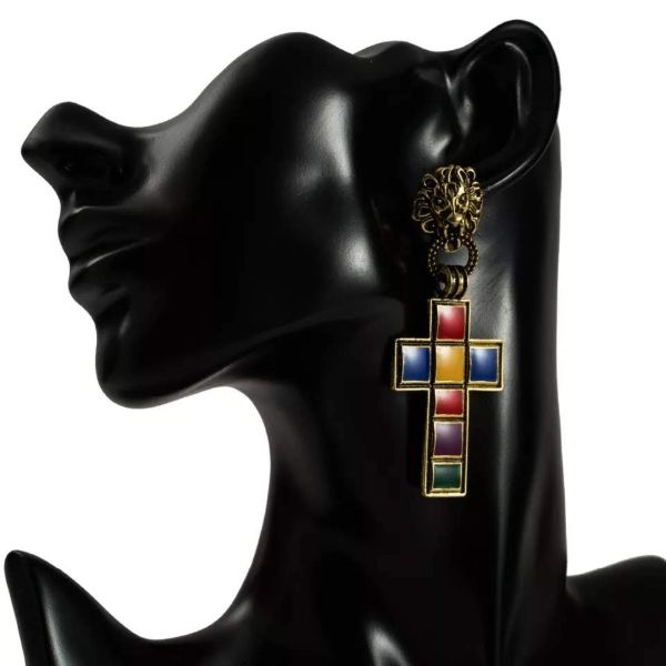 Vatican Leo Ear Rings