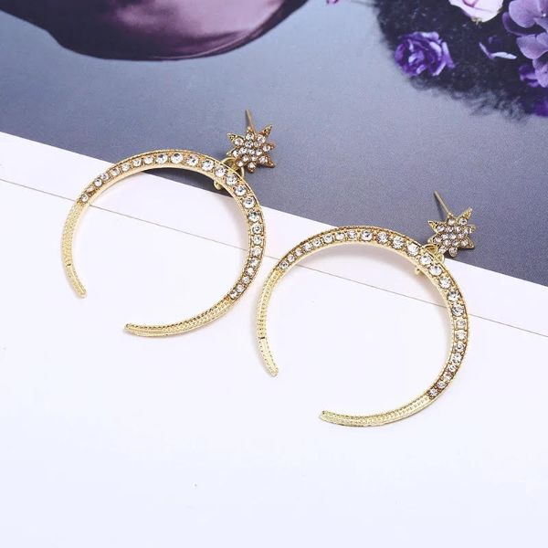 Crescent Ear Rings