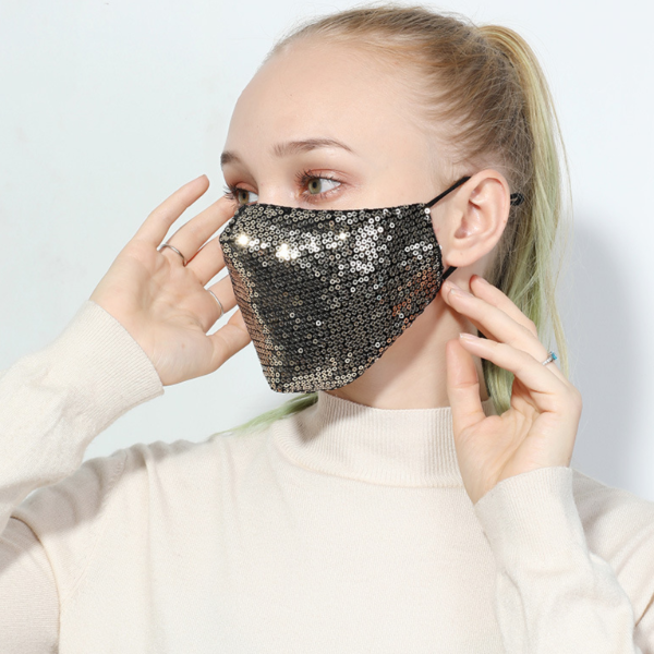 Sparkler Cotton Mask