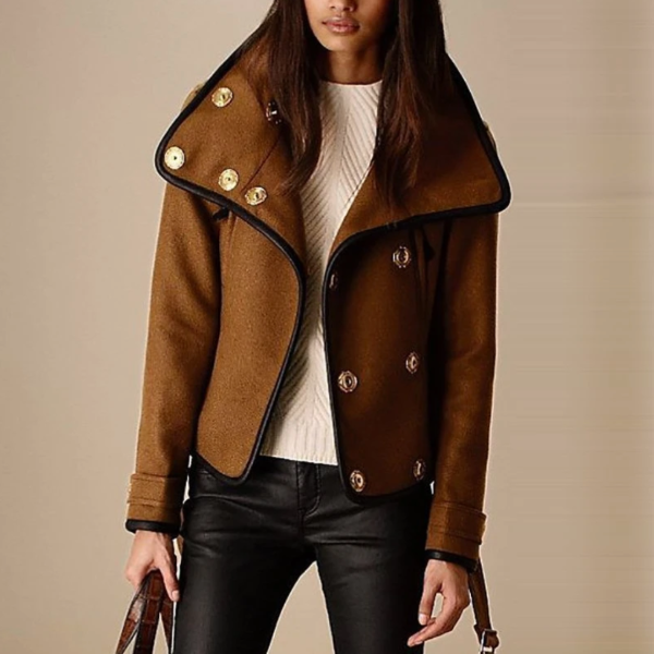 Ava Brown Jacket
