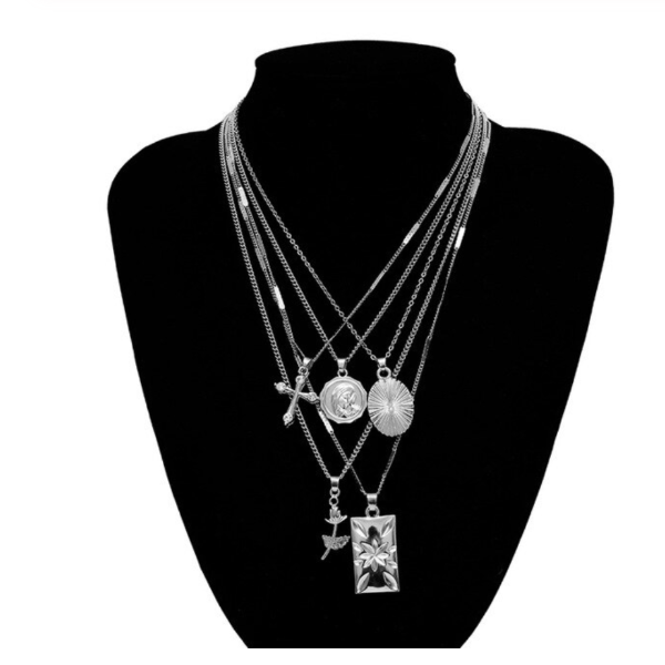 Rosa Multiple Necklace Collection
