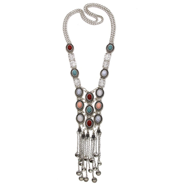 Wonderer Gypsy Tassel Long Necklace