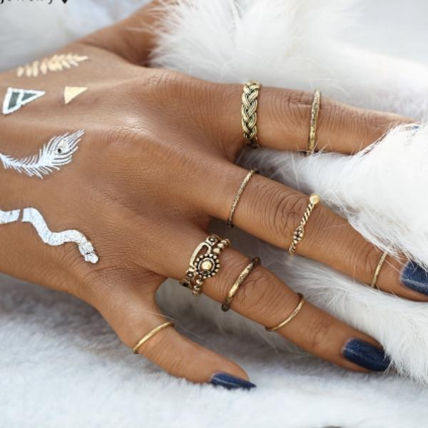 Elysia Ring Set (9 Pieces)