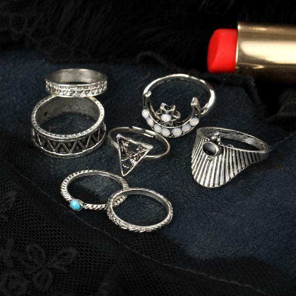 Luxor ring set (6 Pieces)