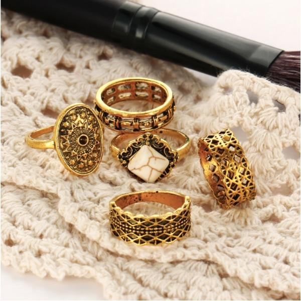Angelus Ring Set (5 Pieces)