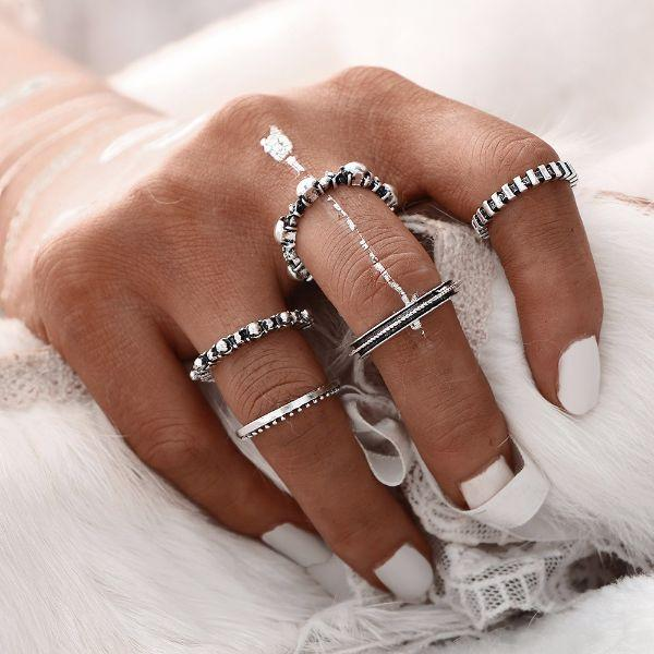 Magnethia Ring Set (5 Pieces)