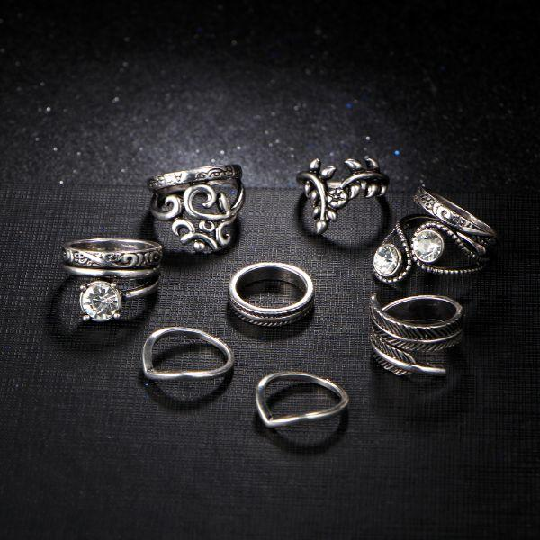 Fairlight Ring Set (8 Pieces)