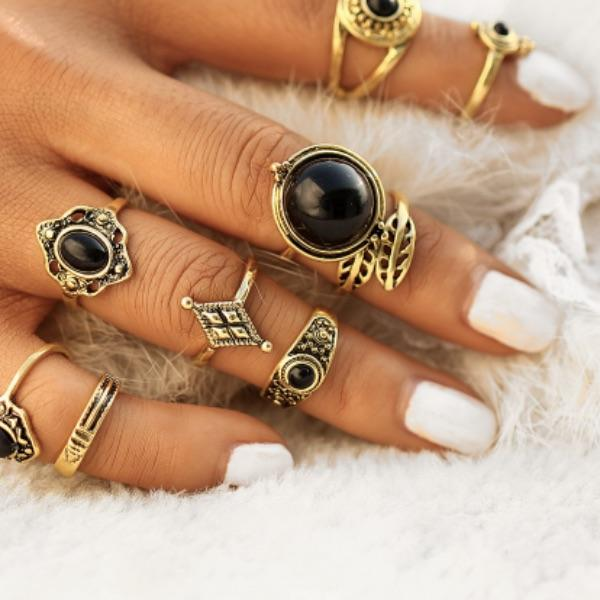 Demelza Ring Set (9 Pieces)