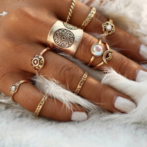 Odette Ring Set (9 Pieces)