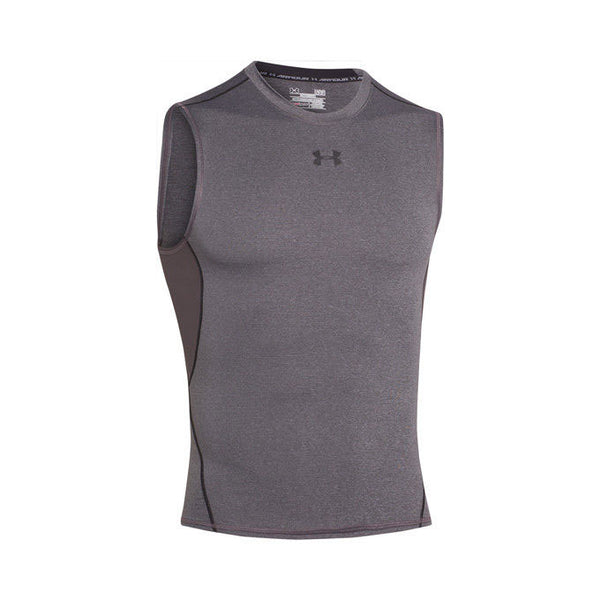 UNDER ARMOUR HeatGear Smanicato COMPRESSION (Grigio)