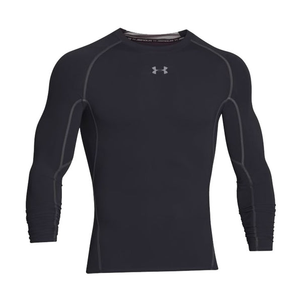 UNDER ARMOUR HeatGear Maglia Manica Lunga COMPRESSION (Nero)