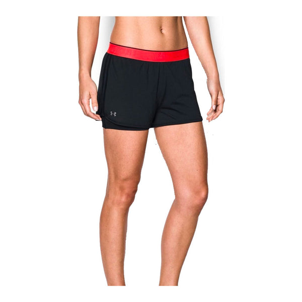 UNDER ARMOUR Pantaloncino HEATGEAR® ARMOUR 2-in-1 (Nero/Rosa) [W]