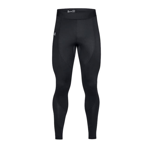 UNDER ARMOUR Pantaloni Lunghi ColdGear Reactor Run Tights COMPRESSION (Nero)