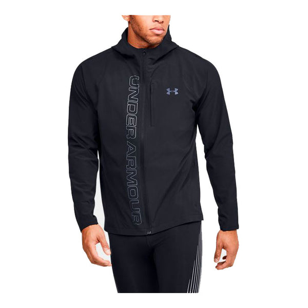 UNDER ARMOUR Giacca Antivento / Antipioggia UA QUALIFIER OUTRUN THE STORM JACKET (Nero)