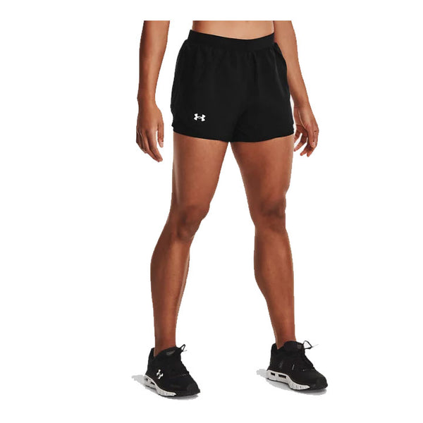 UNDER ARMOUR Pantaloncino Short UA FLY-BY 2.0 2-IN-1 (col.001 / Nero) [W]