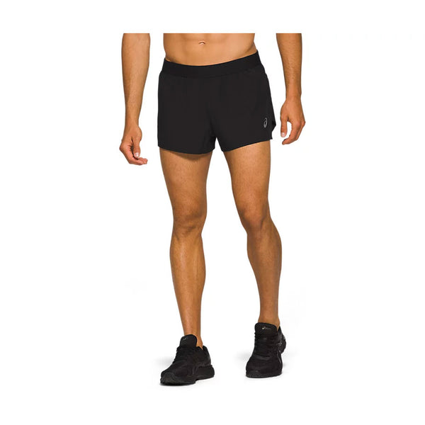ASICS Pantaloncino da corsa ROAD SPLIT SHORT (col.001 / Performance Black)