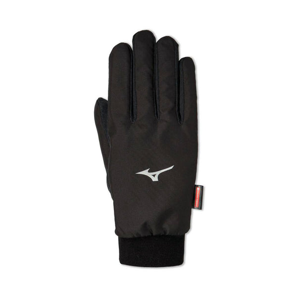 MIZUNO Guanti Anti-Vento BT WIND GUARD GLOVES in BREATH THERMO (Nero) [Unisex]