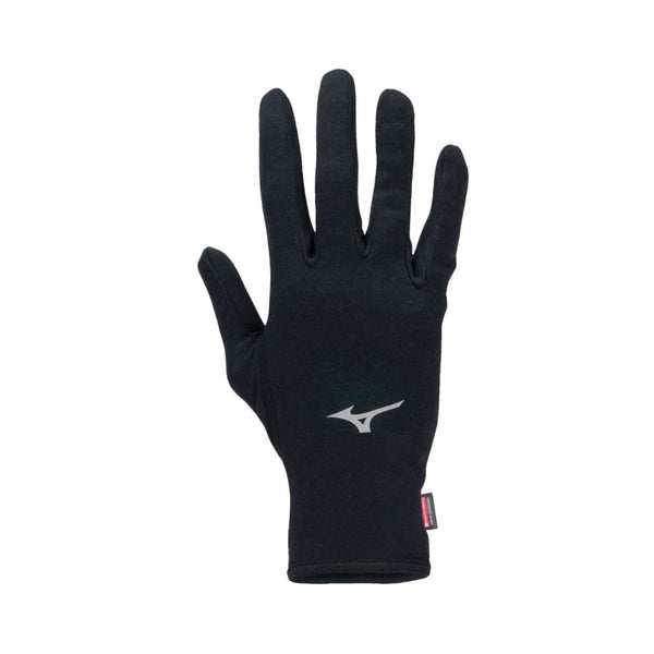 MIZUNO Guanti RUN BT GLOVES in BREATH THERMO (Nero)