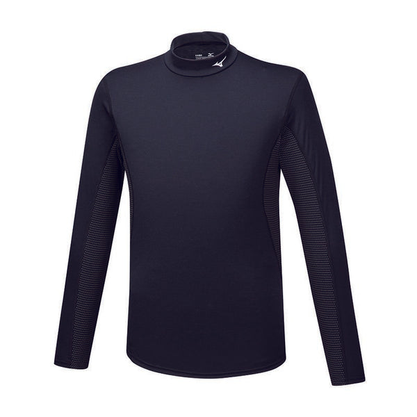 MIZUNO Maglia Termica Manica Lunga BREATH THERMO HIGH NECK (Nero)