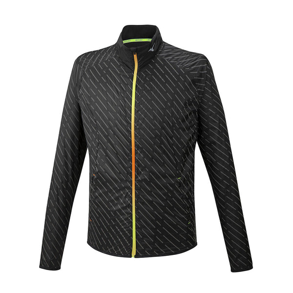 MIZUNO Giacca Antivento PREMIUM REFLECT WIND JACKET (Nero)