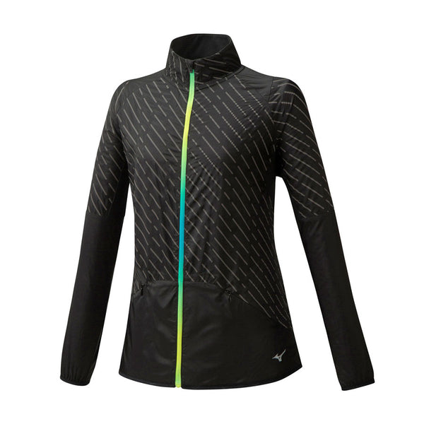 MIZUNO Giacca Antivento PREMIUM REFLECT WIND JACKET (Nero) [W]