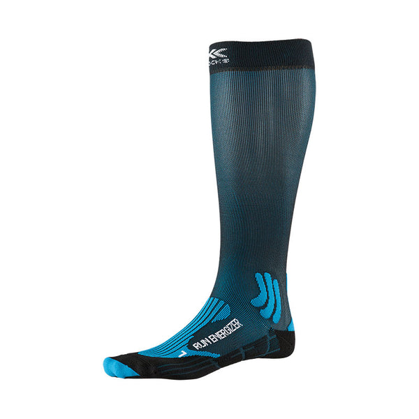 X-BIONIC / X-SOCKS Calze Running RUN ENERGIZER SOCKS 4.0 [UNISEX] (Teal Blue/Opal Black)