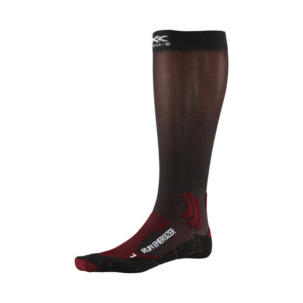 X-BIONIC / X-SOCKS Calze Running RUN ENERGIZER SOCKS 4.0 [UNISEX] (Dark Ruby/Opal Black)
