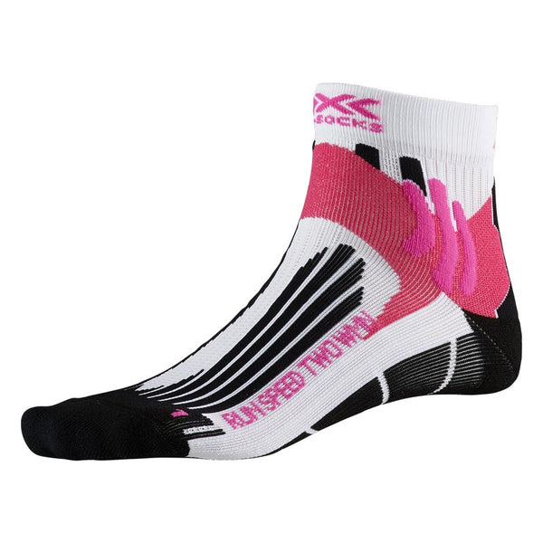 X-BIONIC / X-SOCKS Calze Running RUN SPEED TWO WMN SOCKS (Artic White/Opal Black/Pink)