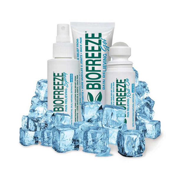 BIOFREEZE Crioterapia (3 formati: Gel - Spray - Roll-on)