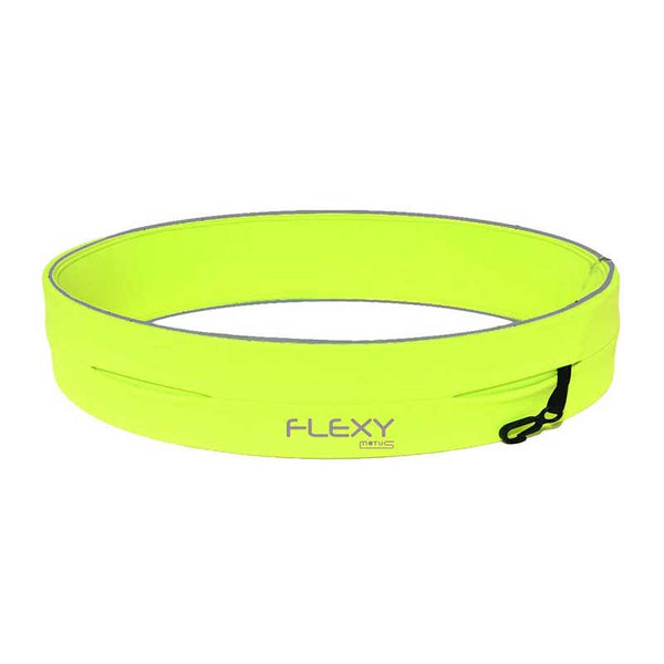 MOTUS FLEXY Smart Belt - Fascia per Smartphone e accessori [Neon Green]