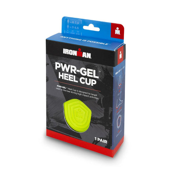 SPENCO - IRONMAN PWR-GEL HEEL CUP (Talloniera GEL)