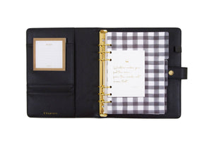 A5 Tarihli Planlayıcı (Personal Planner) ,Black (OUTLET) - Chapters