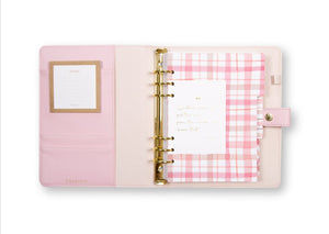 A5 Tarihsiz Planlayıcı (Personal Planner) , Pink - Chapters