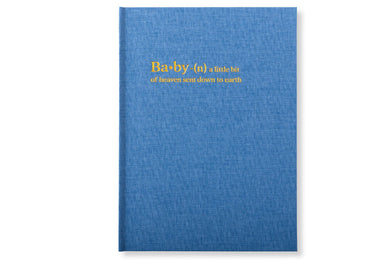 Chapters Baby Book - Denim Blue - Chapters