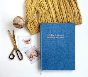 Chapters Baby Book - Denim Blue (OUTLET) - Chapters