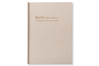 Chapters Baby Book - Linen - Chapters