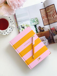 Chapters Notebook - Pink & Orange - Chapters