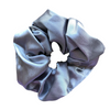 Ash Satin Scrunchie
