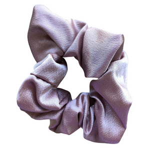 Champaign Satin Scrunchie