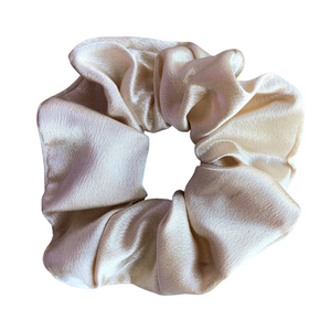 Honey Satin Scrunchie