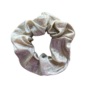 Gold Glitter Scrunchie