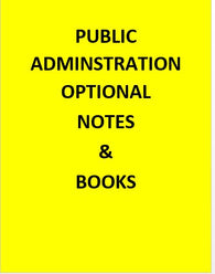 Public Administration UPSC Notes